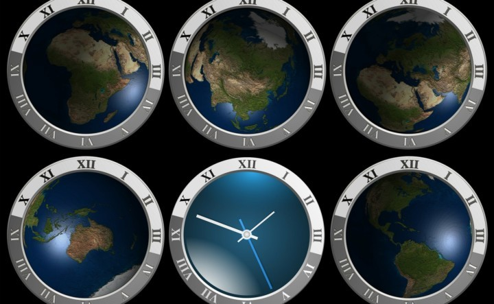 Time zones and daylight saving